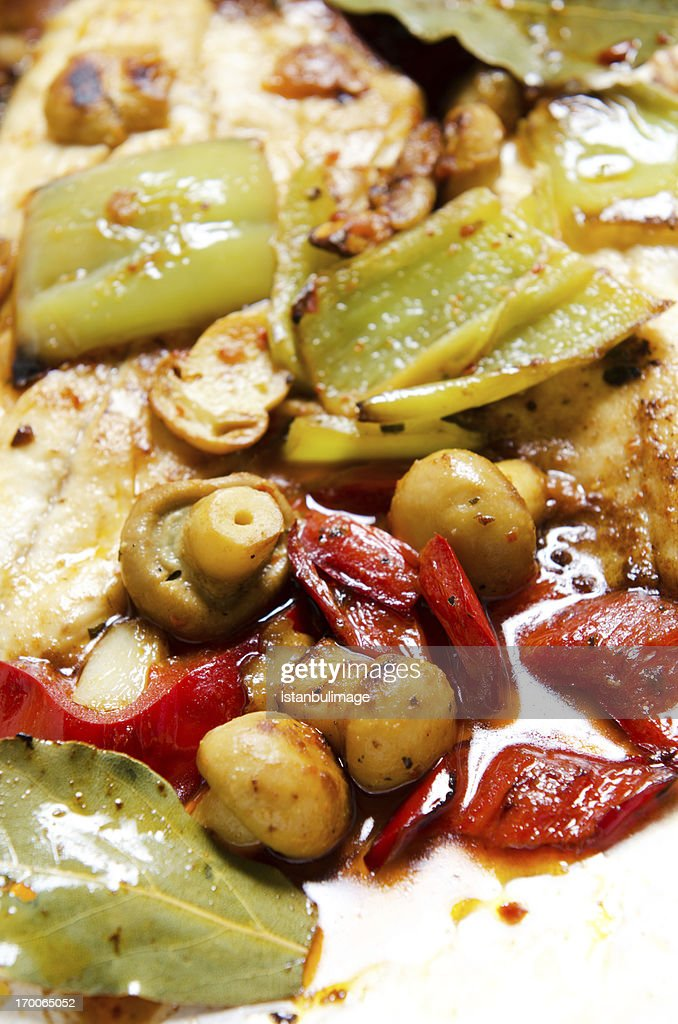 Grilled seafood : Stock Photo