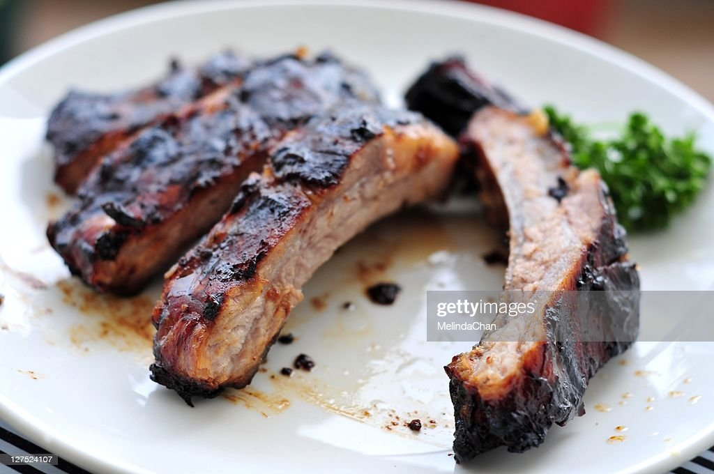 Grilled spare rib : Stock Photo