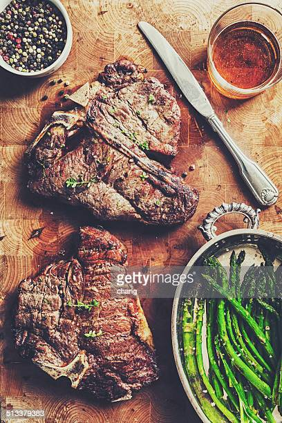 steak grillé