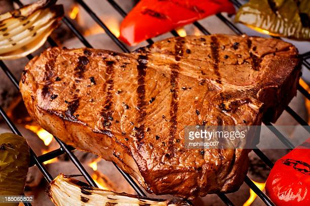 Gegrilltes T-bone-Steak