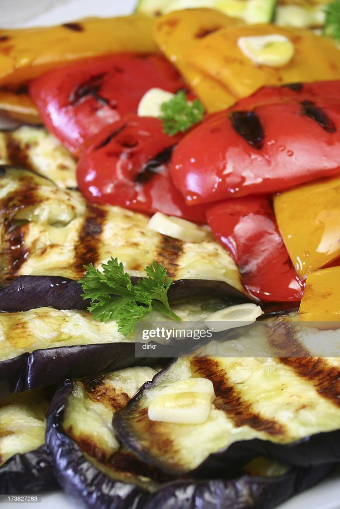 Grilled Vegetables Appetizer : Stock Photo