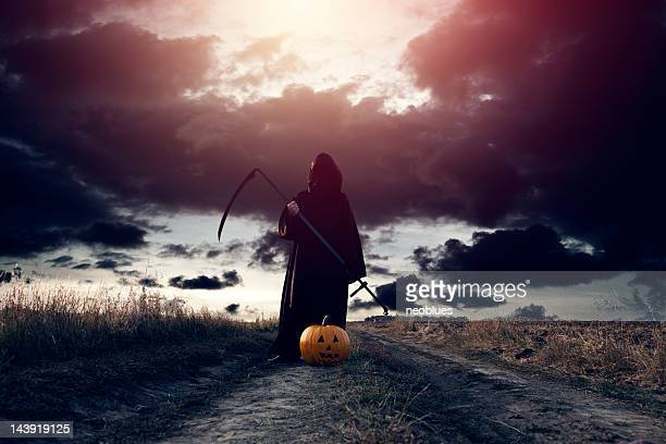 Grim Reaper and Jack O' Lantern