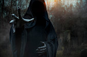 Grim Reaper. Halloween theme.