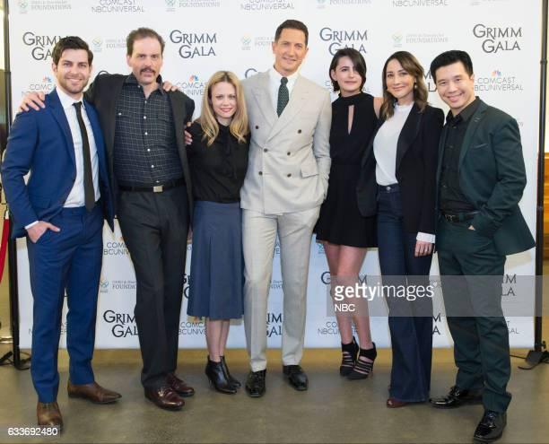 GRIMM 'Grimm Gala 2017' Pictured David Giuntoli Silas Weir Mitchell Claire Coffee Sasha Roiz Jacqueline Toboni Bree Turner Reggie Lee
