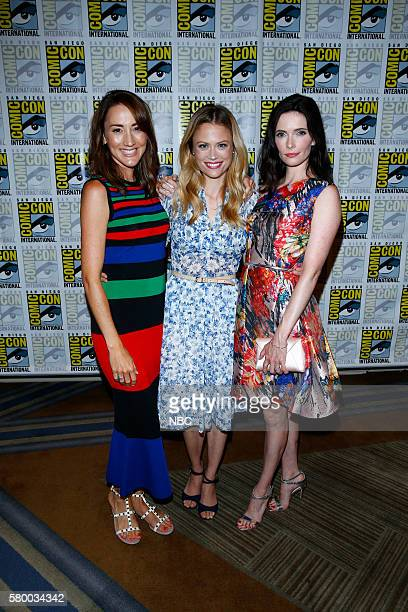 DIEGO 2016 'Grimm Panel and Press Room' Pictured Bree Turner Claire Coffee Bitsie Tulloch Friday July 22 from the Hilton Bayfront San Diego Calif