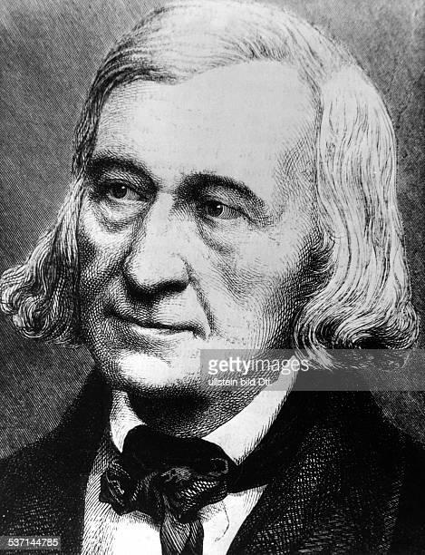 Grimm Wilhelm Sprach und Literaturwissenschaftler Maerchen und Sagensammler D Portrait undatiert