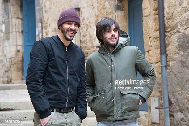 Gringe and orelsan attend the ' Comment c'est loin ' photocall during the 24th Sarlat Film Festival Day Four on November 13 2015 in SarlatlaCaneda...