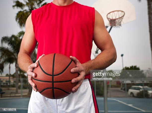 Gripping a Basketball