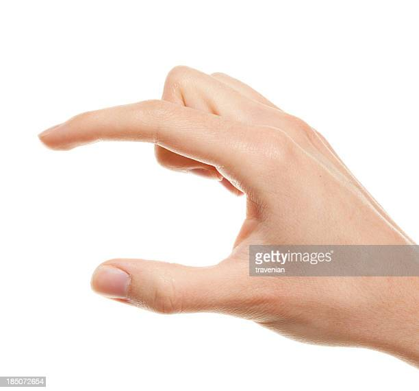 Gripping gesture