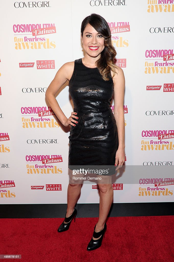 Grisel Ruiz attends Cosmopolitan 'Fun, Fearless' Latina Awards at Hearst Tower on June 4, 2014 in New York City.