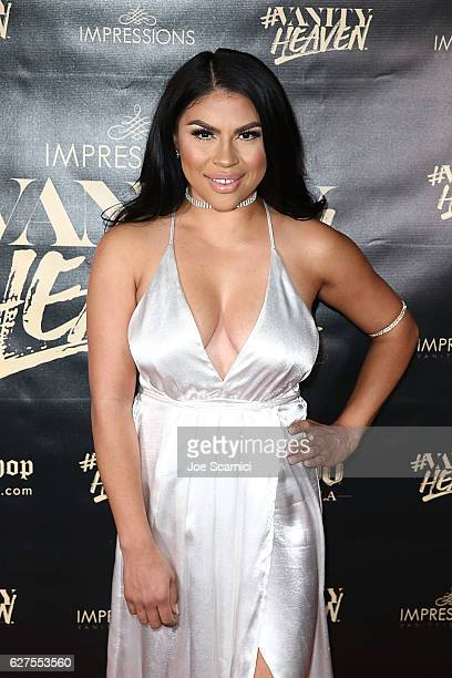 Griselda Martinez arrives at the #VanityHeaven Flagship Store Grand Opening on December 3 2016 in Tustin California