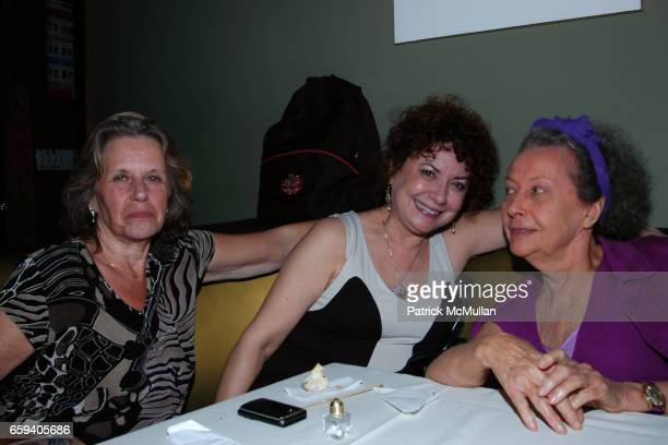Griselda Steiner Alissa Grimaldi and Ultra Violet attend 'TIMESHIPTHE ARCHITECTURE OF IMMORTALITY' NYC BOOK LAUNCH at Providence on September 9 2009...