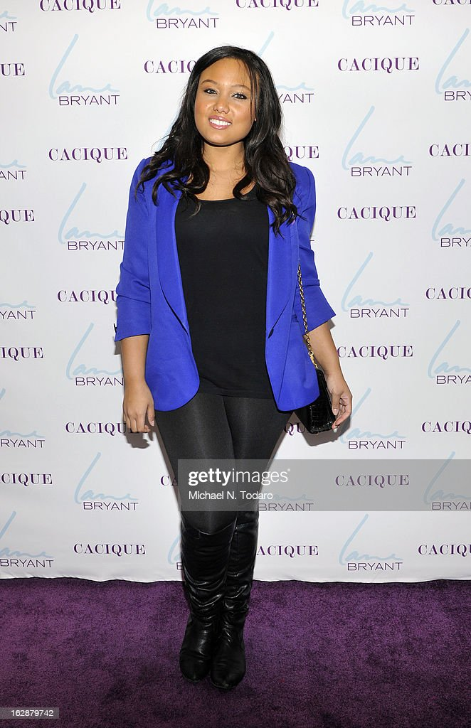 Griselle Paula attends the opening party for the Lane Bryant 34th Street Flagship Store on February 28, 2013 in New York City.