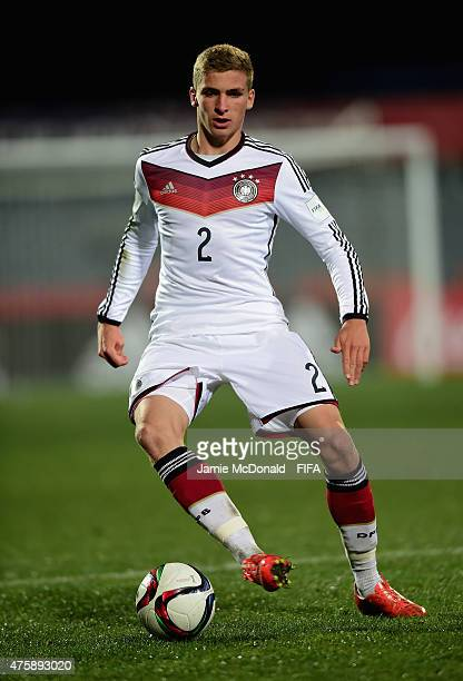 Grisha Promel of Gemany in action during the FIFA U20 World Cup New Zealand 2015 Group F match between Germany and Uzbekistan at the Christchurch...