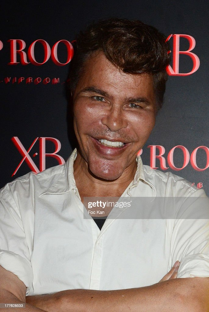 Grishka Bogdanov attends the VIP Room on August 24, 2013 in Saint Tropez, France.