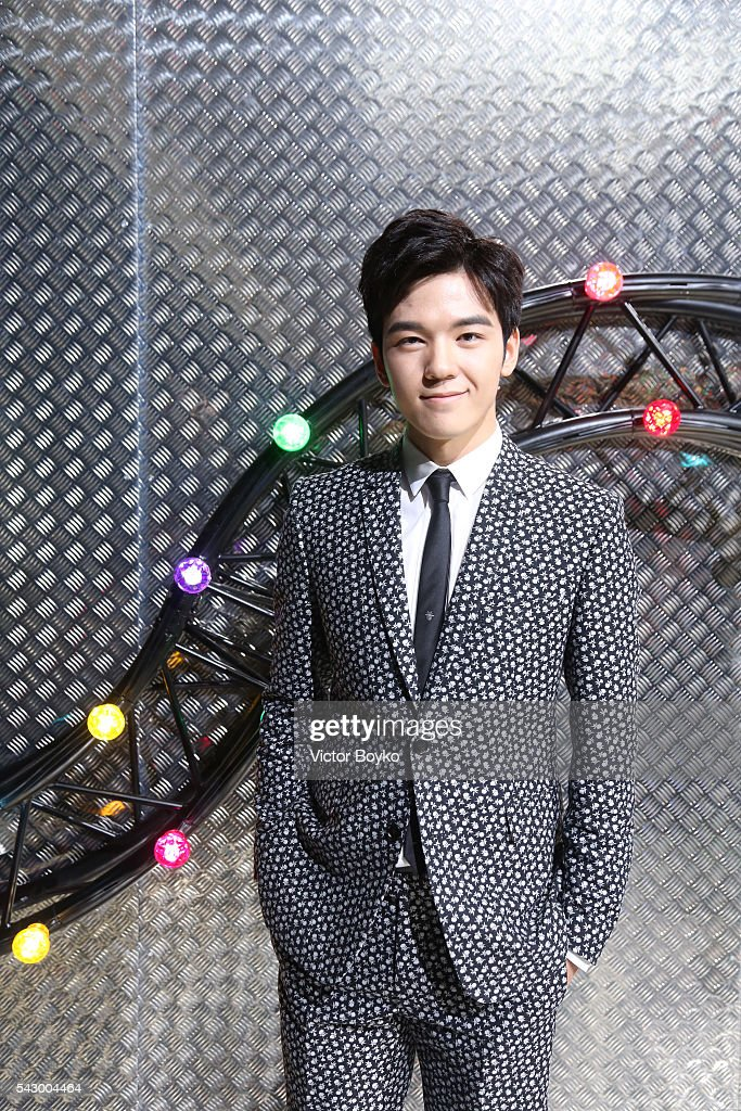 Grit Jirakiertivadhana attends the Dior Homme Menswear Spring/Summer 2017 show as part of Paris Fashion Week on June 25, 2016 in Paris, France.