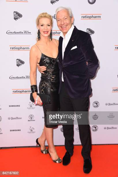 Grit Weiss and Jo Groebel attend the 99FireFilmsAward at Admiralspalast on February 16 2017 in Berlin Germany
