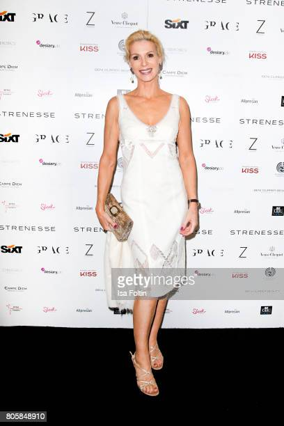 Grit Weiss during the host of Annabelle Mandengs Ladies Dinner at Hotel Zoo on July 2 2017 in Berlin Germany