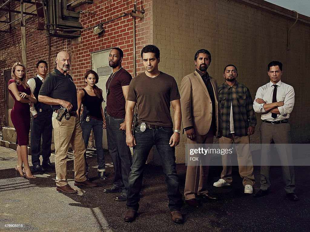 Gritty action-drama GANG RELATED follows <a gi-track='captionPersonalityLinkClicked' href=/galleries/search?phrase=Ramon+Rodriguez&family=editorial&specificpeople=73608 ng-click='$event.stopPropagation()'>Ramon Rodriguez</a> (4th R), a rising star in Los Angeles' elite Gang Task Force who, long before he was a cop, pledged allegiance to a different band of brothers. GANG RELATED premieres Tuesday, May 20, 2014 (9:00-10:00 PM ET/PT) on FOX.
