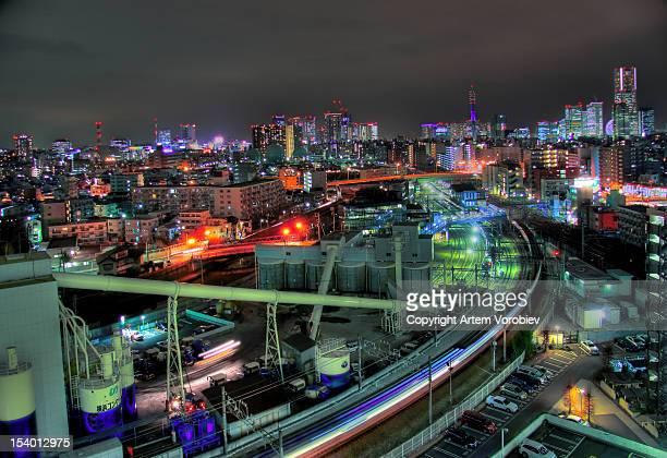 Gritty Yokohama night