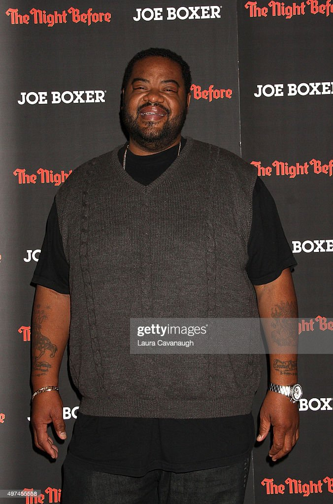 Grizz Chapman attends 'The Night Before' New York Premiere at Landmark Sunshine Cinema on November 16 2015 in New York City