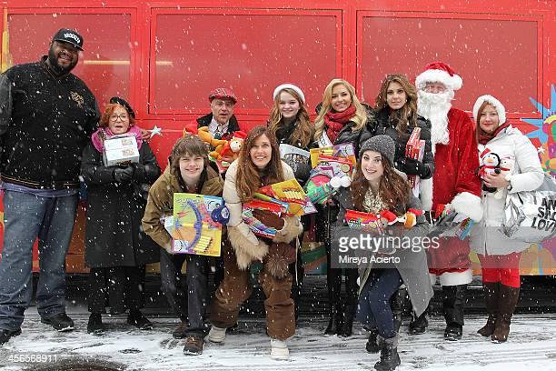 Grizz Chapman Sally Jessy Rafael Brendan Meyer Anthony Laciura Carol Alt Kerris Dorsey Cassidy Wolf Juliette Goglia Erin Brady and Santa Claus attend...