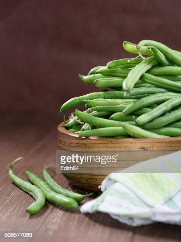 Grüne Bohnen : Stock Photo