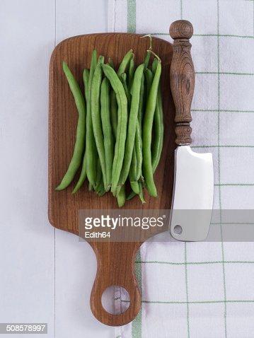 Grüne Bohnen : Foto stock