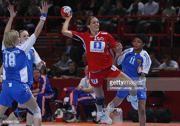 Gro Hammerseng during the 2007 Women's Handball World Championships