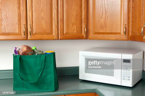 Generi alimentari in cucina