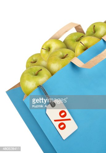 Grocery bag : Stock Photo