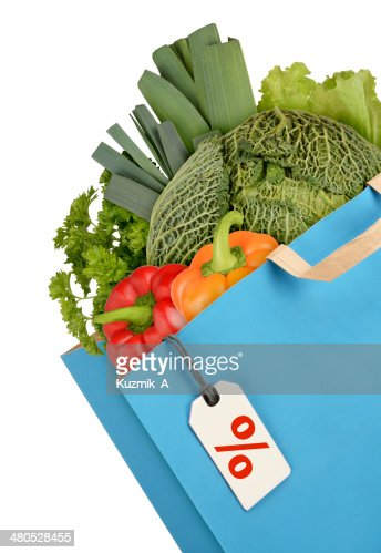 Grocery bag : Bildbanksbilder