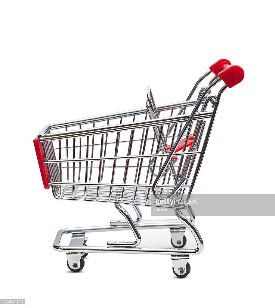 Cesto de mercearia : Foto de stock