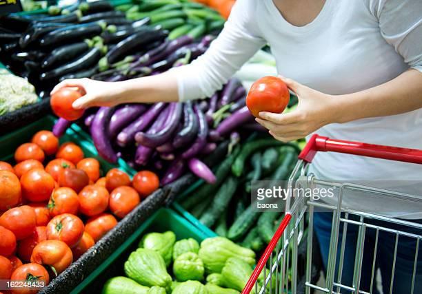 Compras de mercearia