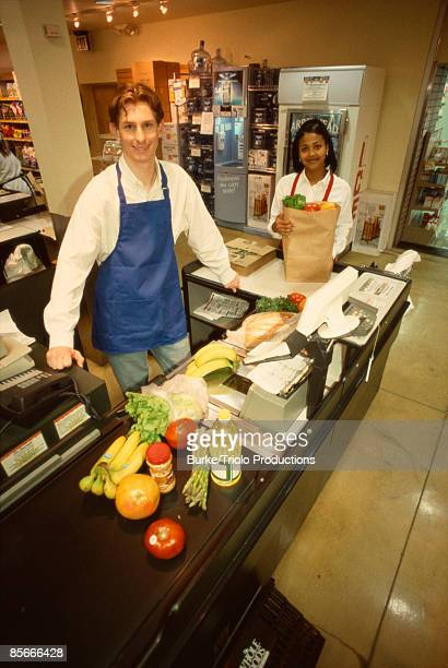 Grocery store cashiers