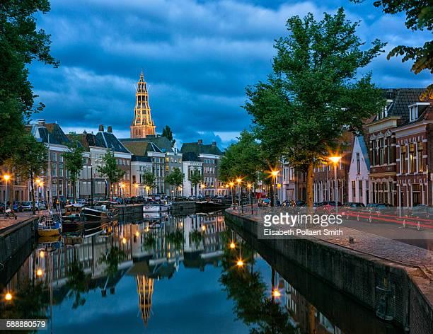 Groningen city view