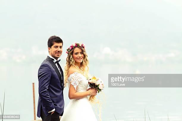 Sposo e bella sposa