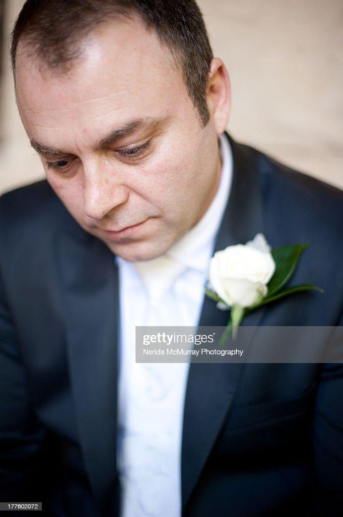 Groom portrait : Stock Photo