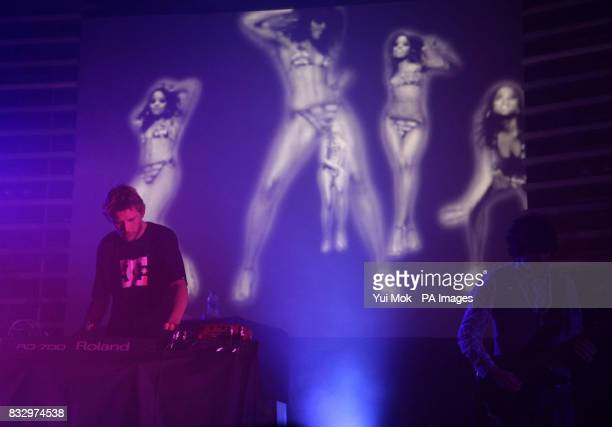 Groove Armada perform on stage at the Hammersmith Palais in west London