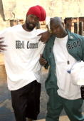 Groovy Lew and Jadakiss during Sheek Louch Video Shoot for '2 Gunz Up' in Brooklyn New York United States