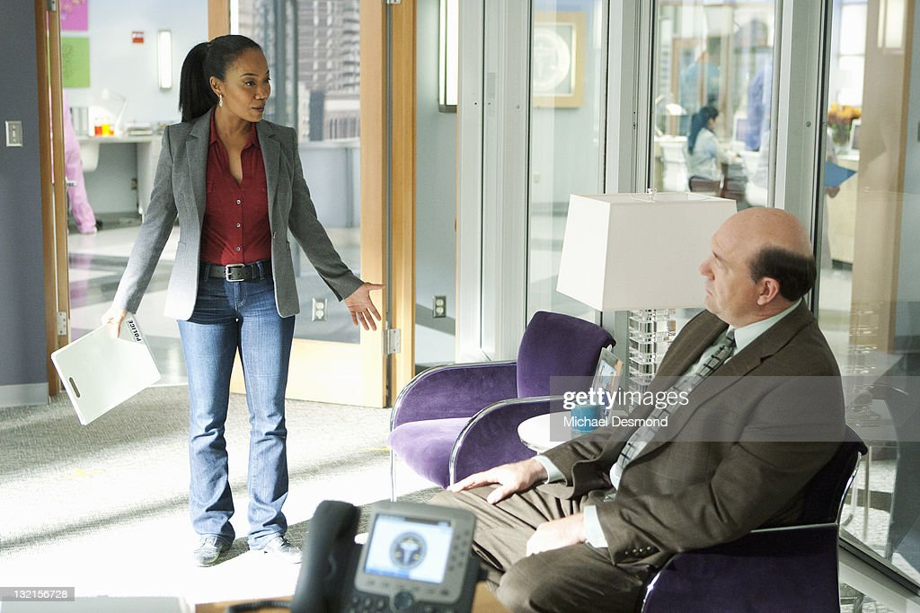 PROOF - 'Gross Anatomy' - A murdered young woman's body turns up in place of a medical school cadaver during class, leaving Megan to rely on the aid of the star student to help solve the case, on 'Body of Proof,' TUESDAY, NOVEMBER 29 (10:00-11:00 p.m., ET) on the ABC Television Network. (Photo by Michael Desmond/ABC via Getty Images)SONJA