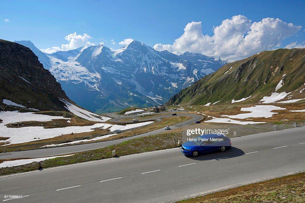 Grossglockner High Alpine Road, Austria : Stock Photo