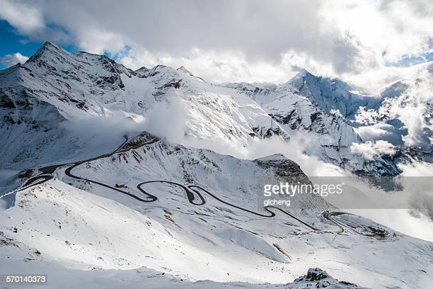 Grossglockner toll road, Alps, Austria