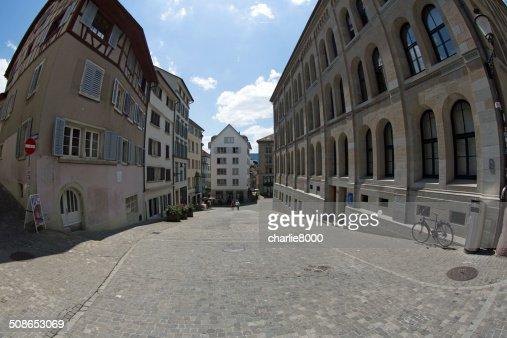 Grossmunster Church in Zurich : Stock Photo