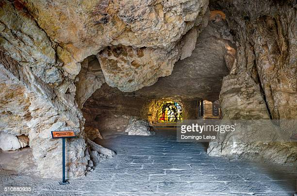 Grotto entrance to the shrine of St. Saturio Soria
