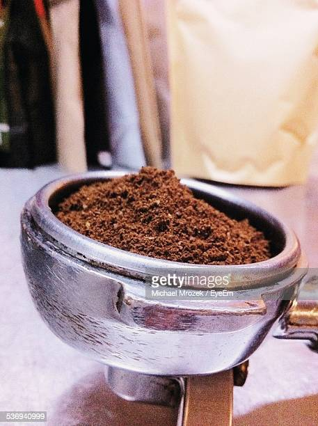 Ground Coffee In Coffee Maker