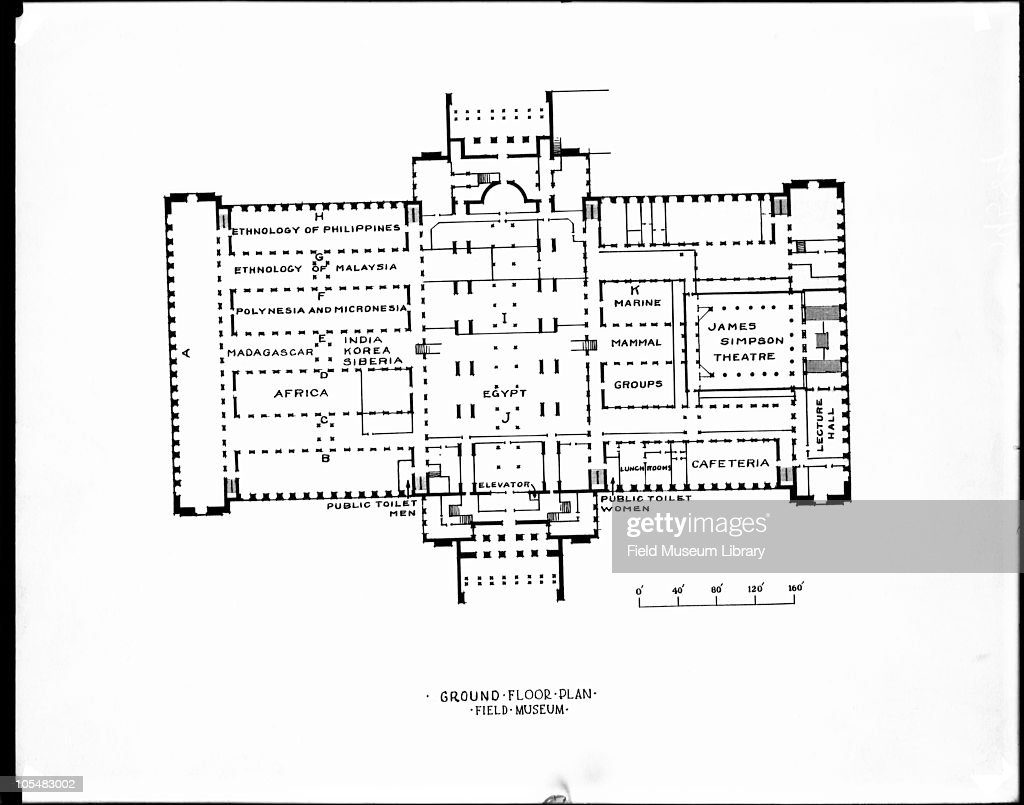 field museum floor plan pictures getty images ground floor plan map of exhibit halls basement showing titles and