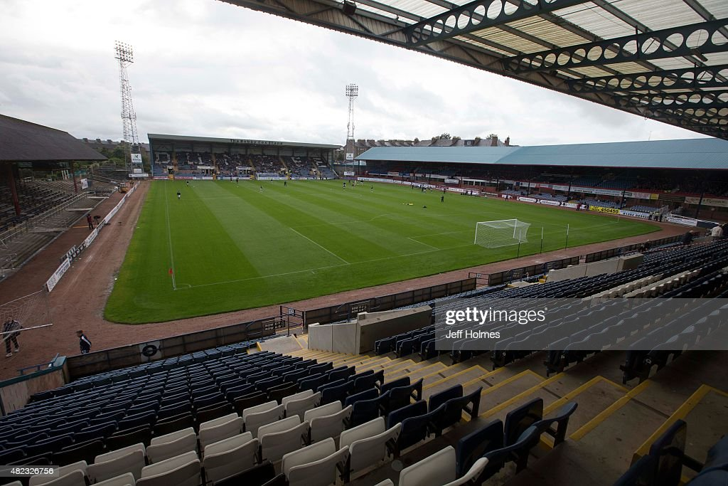 Ground general view at the Pre Season Friendly between Dundee and Everton at Dens Park on July 28th 2015 in Dundee Scotland