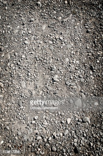 Ground gravel texture background pattern
