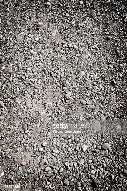 Ground gravel texture background pattern